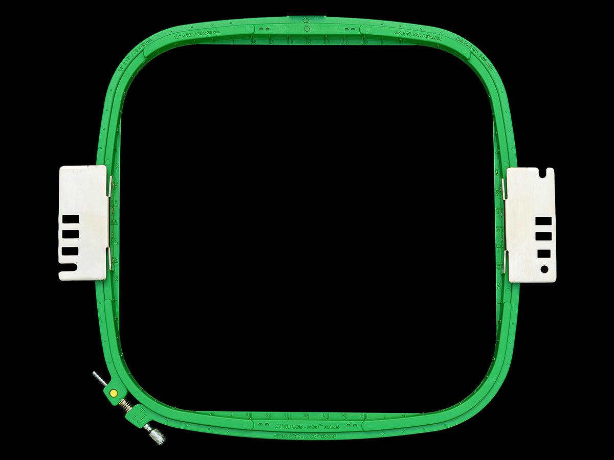 Premium Allied Grid-Lock Plastic Embroidery Hoops - Tubular