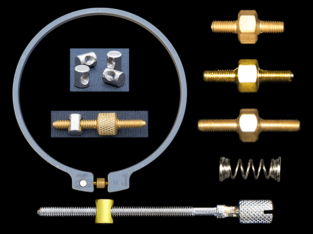 Replacement Outer Hoops, Adjusting Screws and Parts