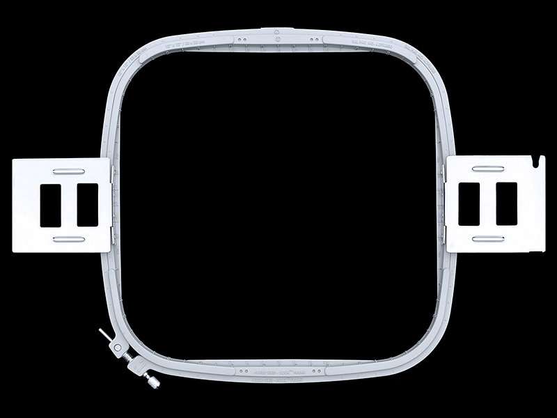 Premium Allied Grid-Lock Plastic Embroidery Hoops - Tubular