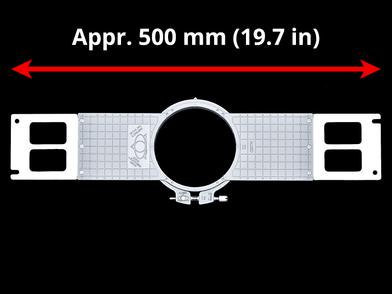 504 mm (Appr. 19.8 inch) Arm Spacing