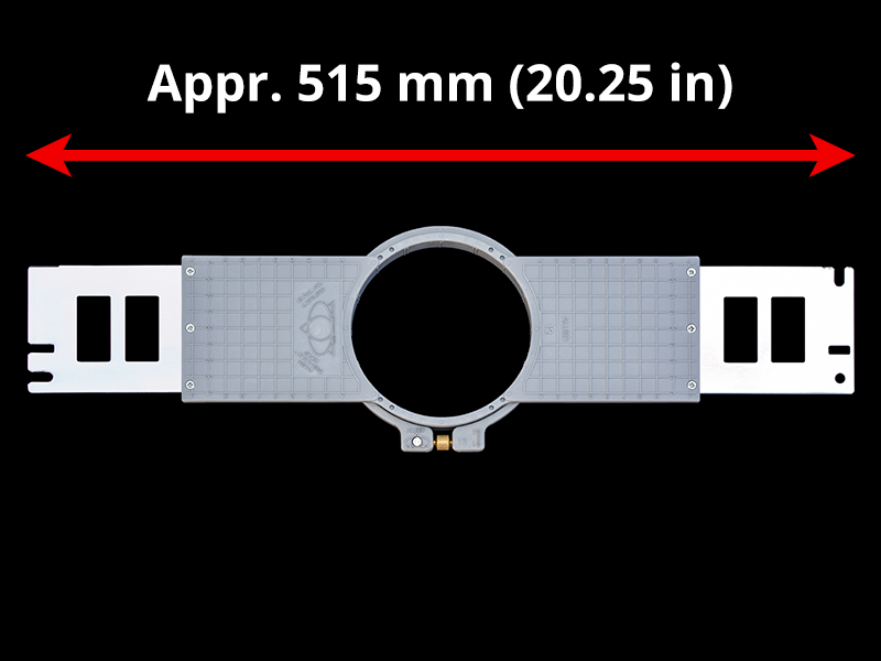 520 mm (Appr. 20.5 inch) Arm Spacing
