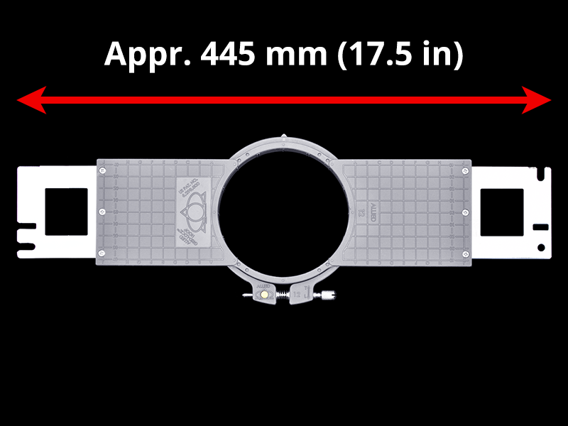 450 mm (Appr. 17.7 inch) Arm Spacing