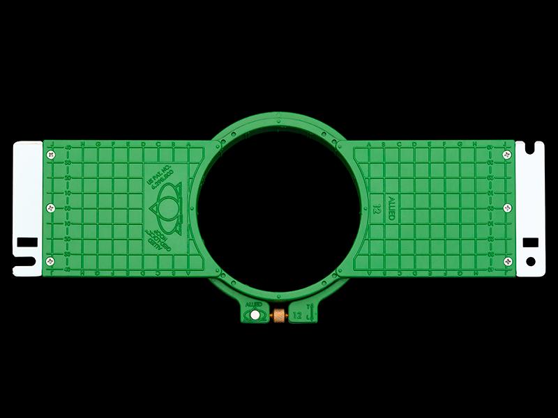 Allied Grid-Lock Plastic Embroidery Hoops - Tubular