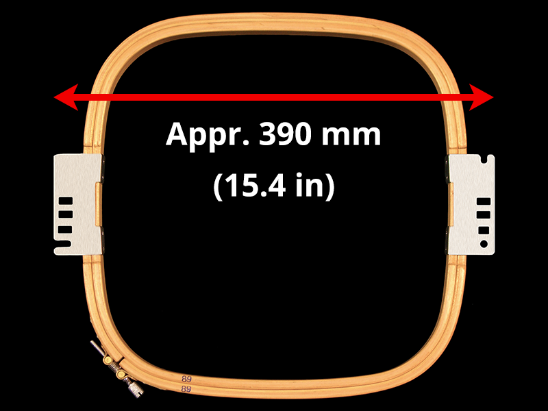 394 mm (Appr. 15.5 inch) Arm Spacing