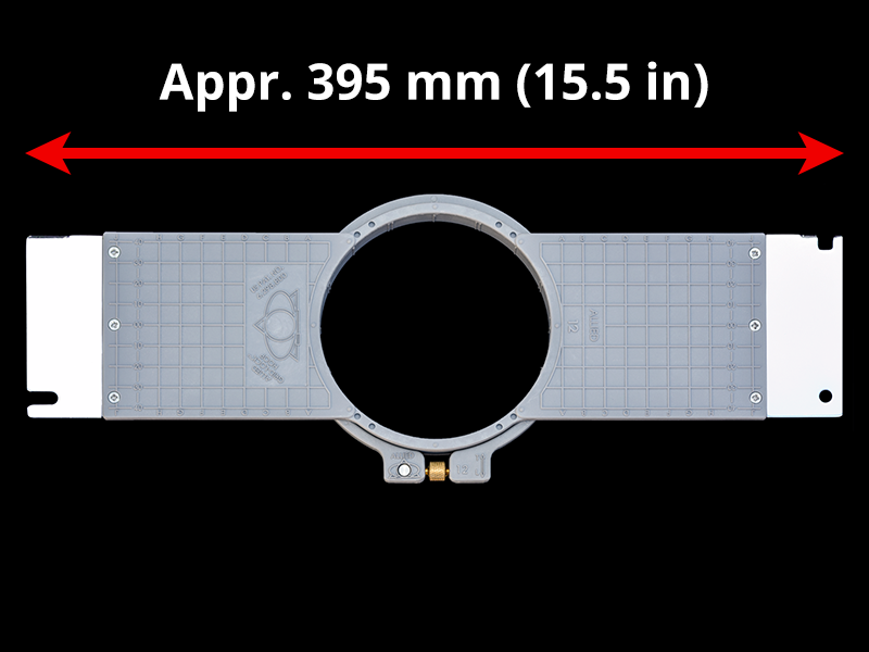 400 mm (Appr. 15.7 inch) Arm Spacing