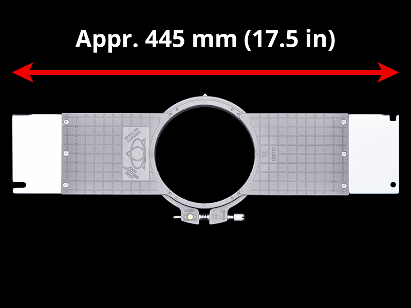 450 mm (Appr. 17.7 inch) Arm Spacing
