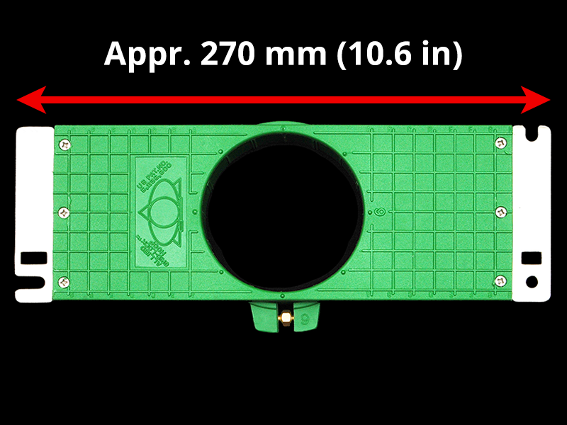 275 mm (Appr. 10.8 inch) Arm Spacing