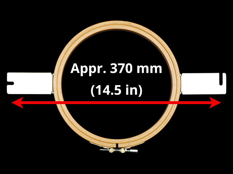 370 mm (Appr. 14.6 inch) Mounting Distance