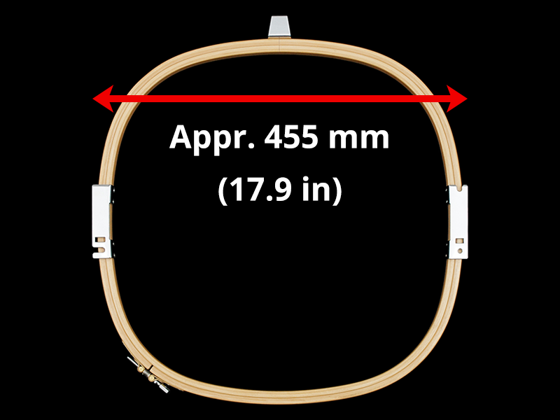 460 mm (Appr. 18.1 inch) Arm Spacing