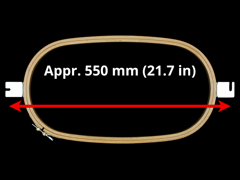 550 mm (Appr. 21.7 inch) Mounting Distance