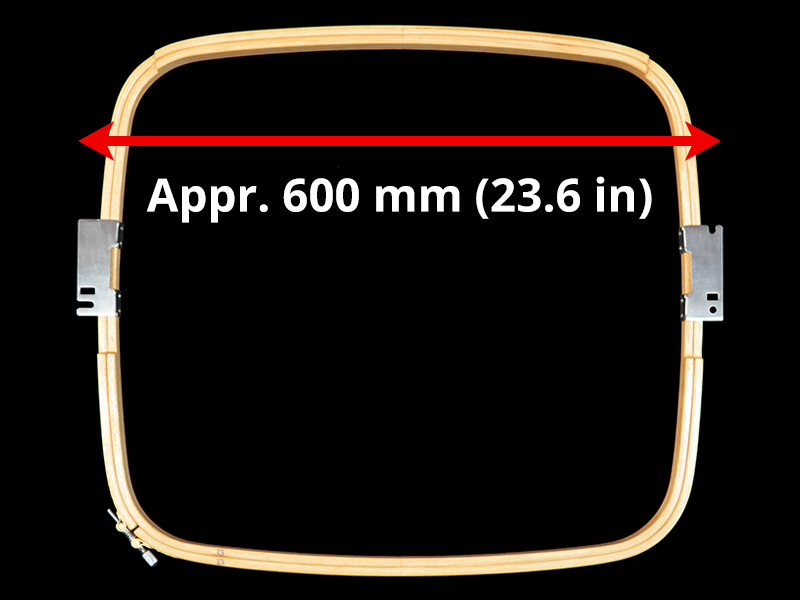 605 mm (Appr. 23.8 inch) Arm Spacing