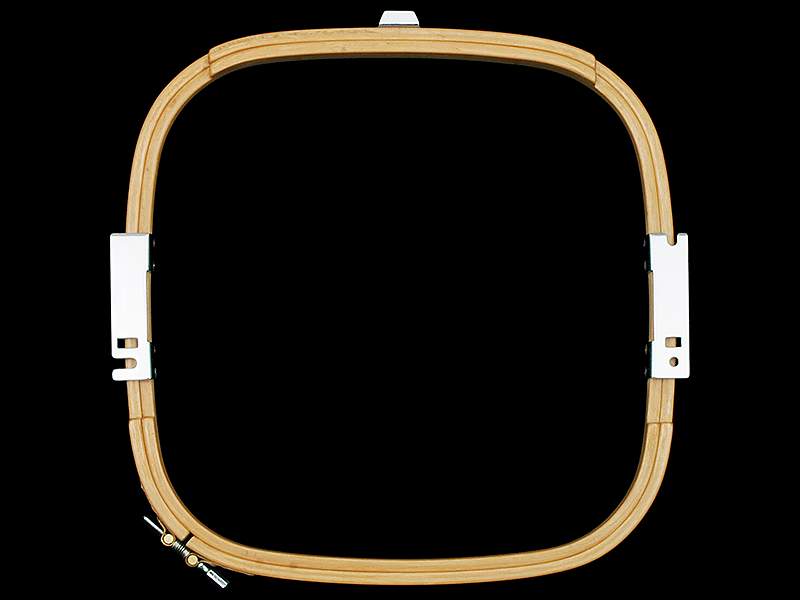Allied Wooden Embroidery Hoops - Tubular