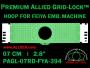 7 cm (2.8 inch) Round Premium Allied Grid-Lock Plastic Embroidery Hoop - Feiya 394