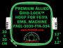 30 x 30 cm (12 x 12 inch) Square Premium Allied Grid-Lock Plastic Embroidery Hoop - Feiya 394