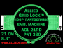 21 cm (8.3 inch) Round Allied Grid-Lock Plastic Embroidery Hoop - Pantograms 360