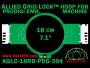 18 cm (7.1 inch) Round Allied Grid-Lock (New Design) Plastic Embroidery Hoop - Prodigi 394