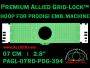 7 cm (2.8 inch) Round Premium Allied Grid-Lock Plastic Embroidery Hoop - Prodigi 394