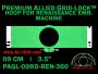 9 cm (3.5 inch) Round Premium Allied Grid-Lock Plastic Embroidery Hoop - Renaissance 360