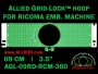 9 cm (3.5 inch) Round Allied Grid-Lock Plastic Embroidery Hoop - Ricoma 360