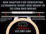 Ultramatic Hoop Bar Adapter for Converting Ultramatic Short-Bar (123 mm) Hoops to Long-Bar Version (242 mm) Hoops